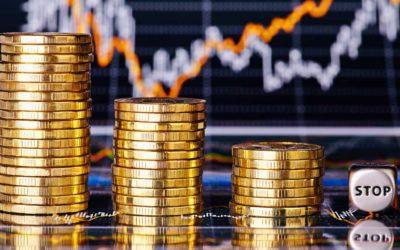 Münzen und Charts