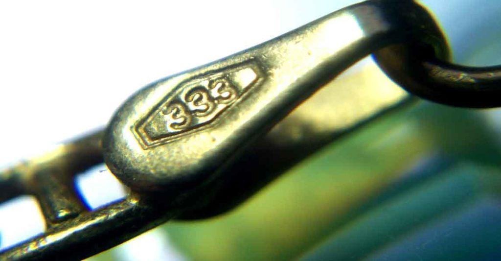 333er Gold Stempel